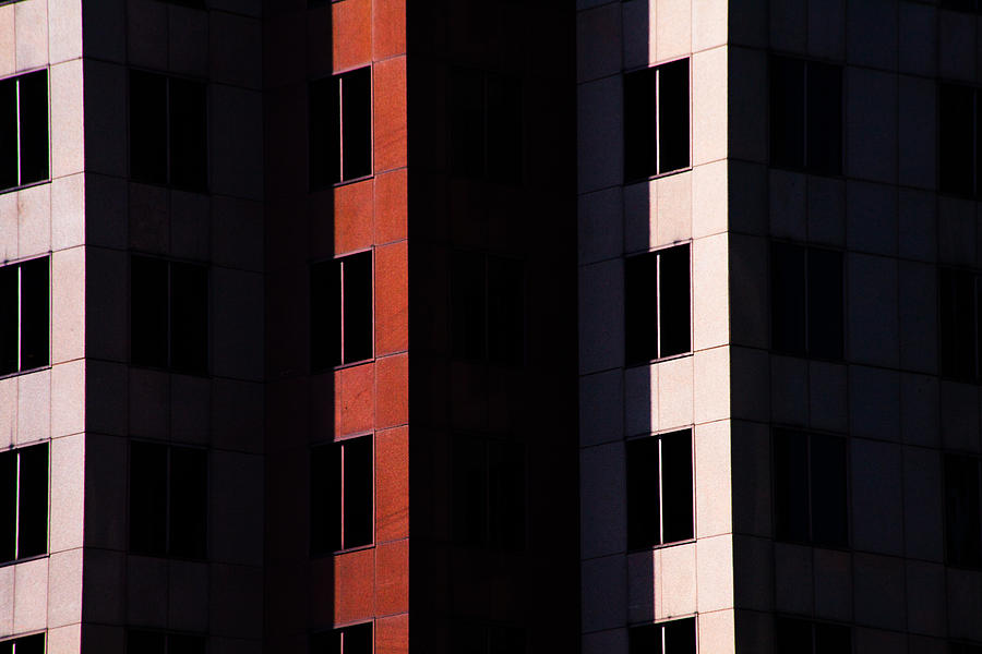 Minimal Photograph - Hidden Windows by Karol Livote
