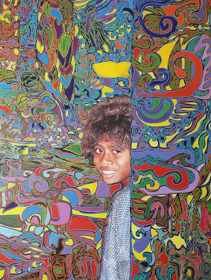 Vanuatu Painting - Hide And Hidden Girl In Vanuatu by Igor Eugen Prokop