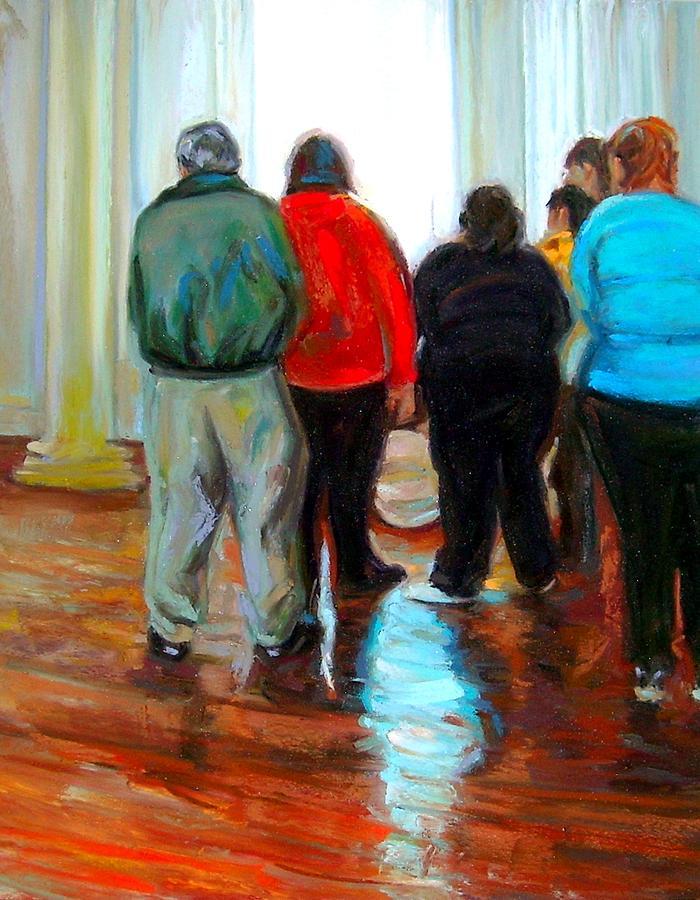 People Painting - Hide And Seek by Cameron Hampton PSA