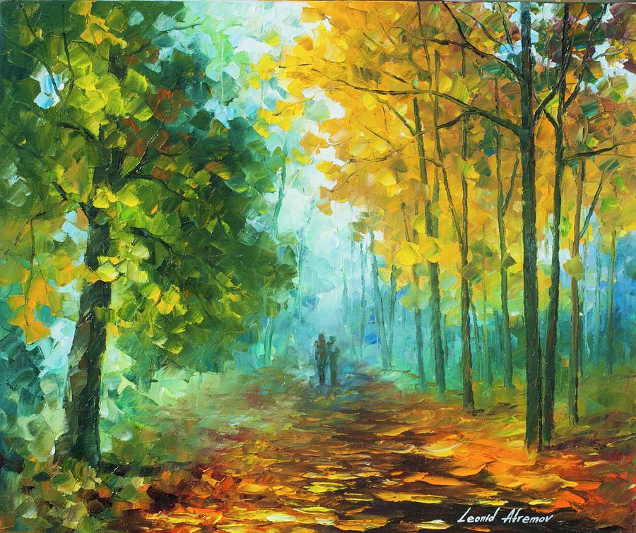 Painting Painting -  Hide And Seek  by Leonid Afremov
