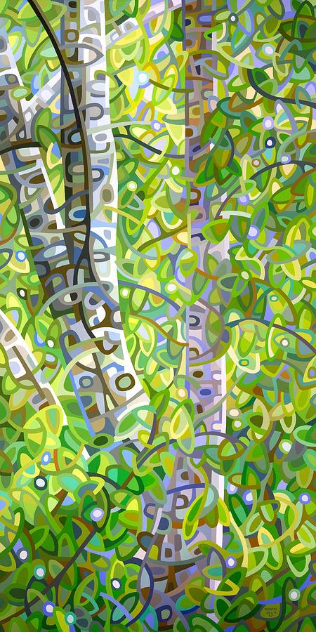 Summer Painting - Hide and Seek by Mandy Budan