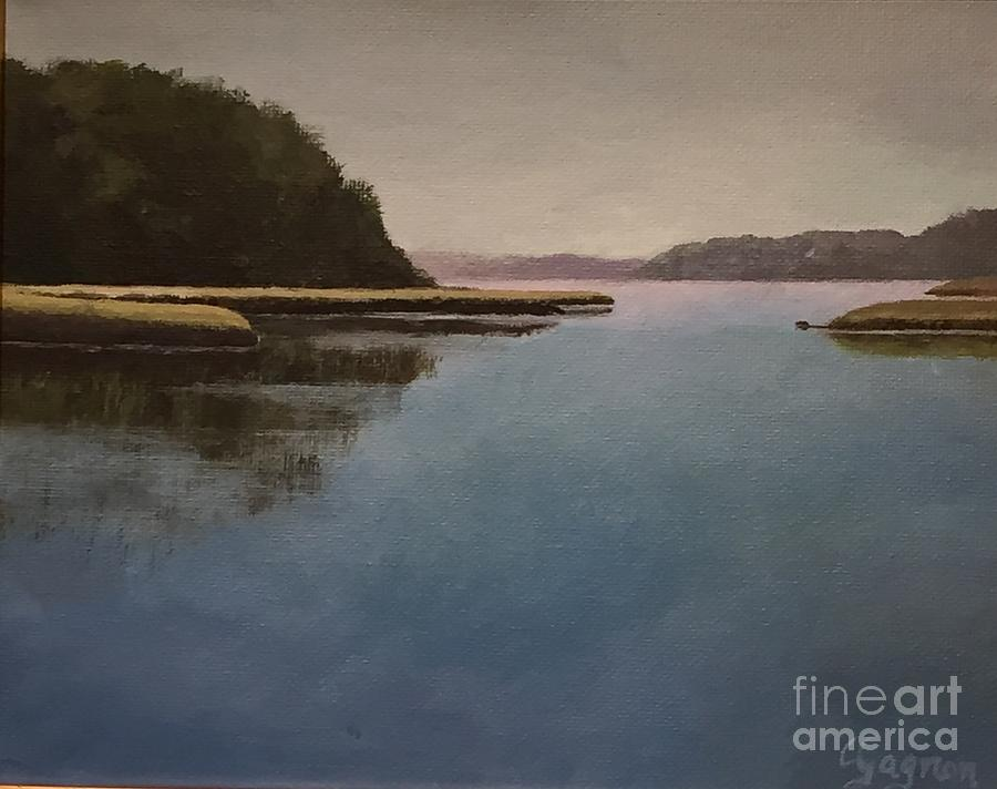 High Tide Little River by Claire Gagnon