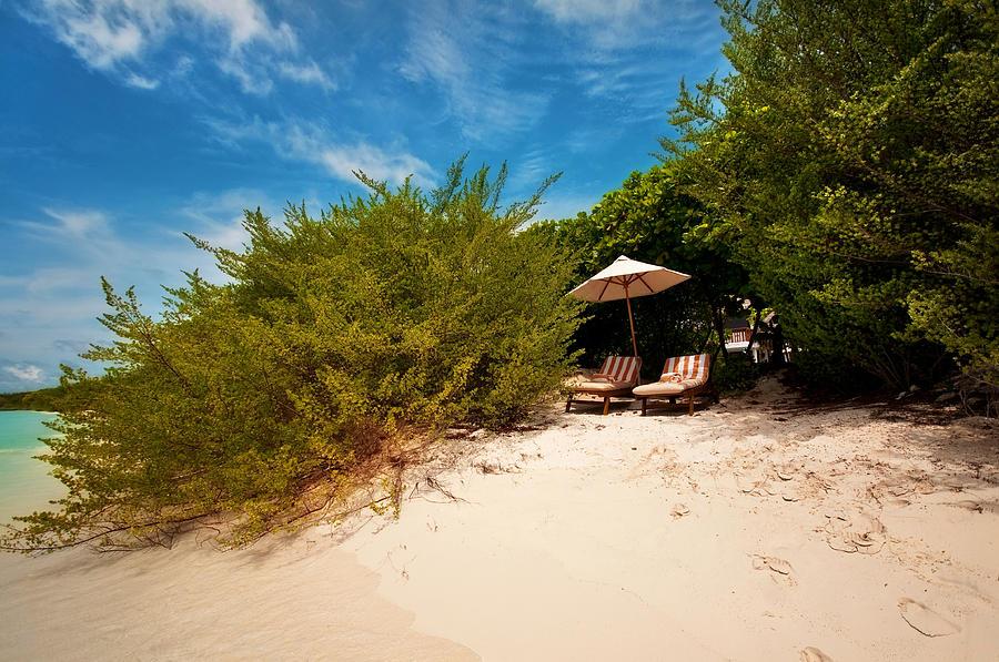 Beach Photograph - Hideaway. Maldivian Beach by Jenny Rainbow