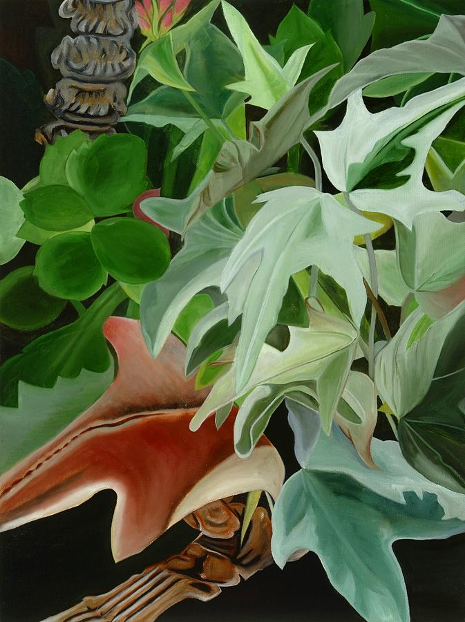 Floral Painting - Hiden Seek III by Sunhee Kim Jung