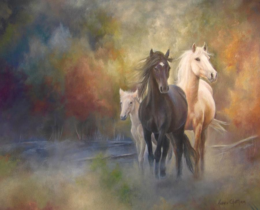Hiding in the Mist by Karen Kennedy Chatham