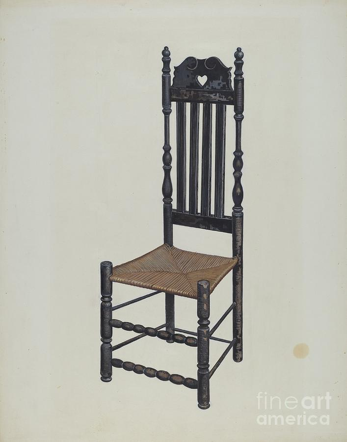 High Back Chair Drawing By James M Lawson And Gordon Saltar
