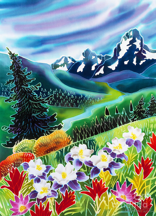 Colorado Painting - High Country by Harriet Peck Taylor