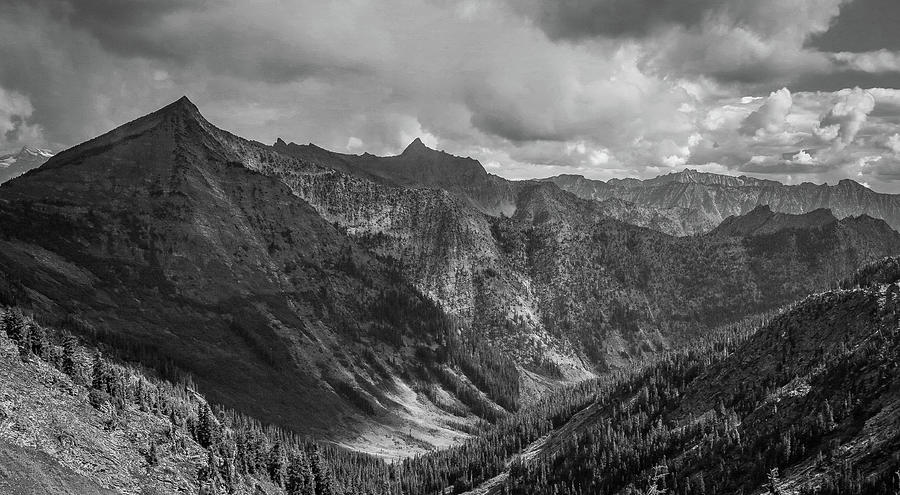 Black And White Photograph - High Country Valley by Jason Brooks