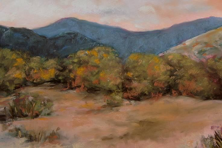 Pastel Painting - High Desert Haven by Rick Citta