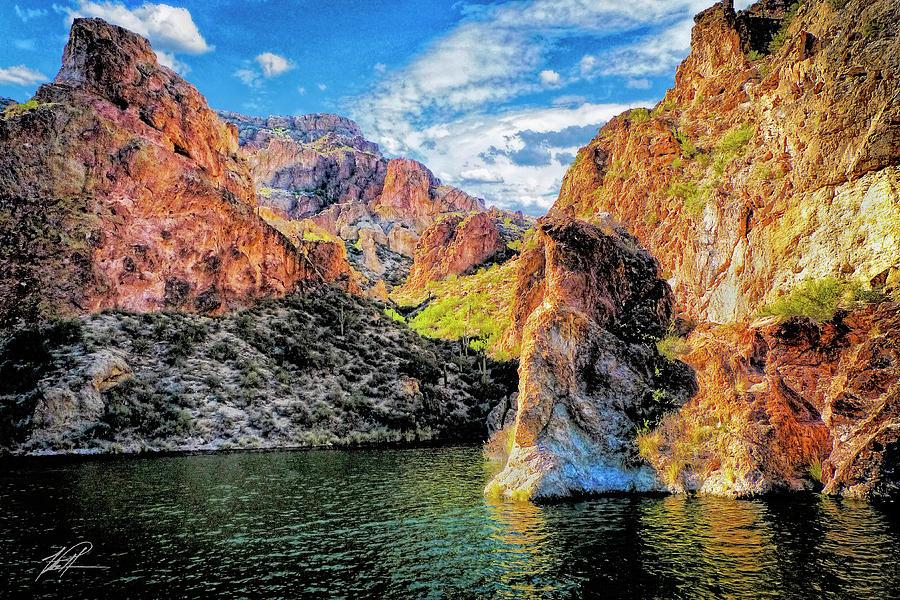 Landscape Photograph - High Desert Lake by Thomas Patterson