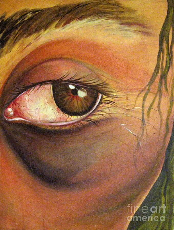 Eyes Painting - High Horse by Yxia Olivares
