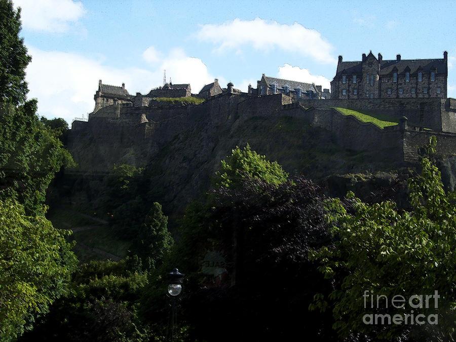 Castle Photograph - High by Janelle Dey