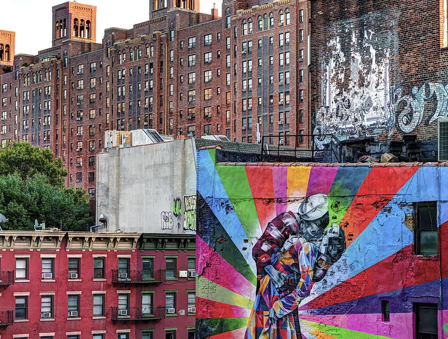 Graffiti Photograph - High Line Art by Michael Tischler