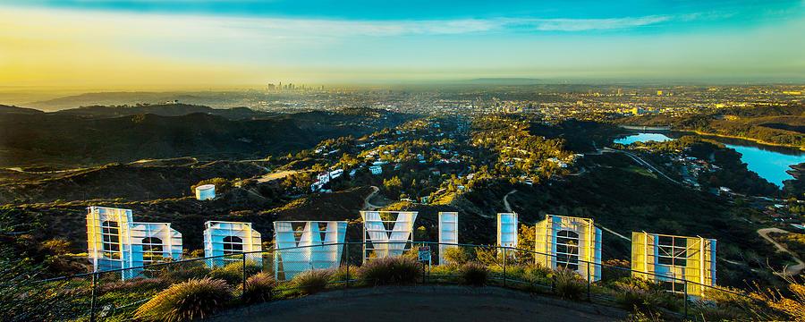Los Angeles Photograph - High On Hollywood by Az Jackson
