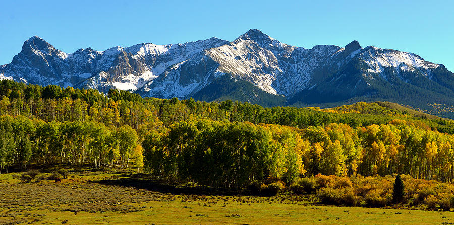 Panoramic Photography Photograph - High Peaks Of The San Juan Mountains by David Lee Thompson