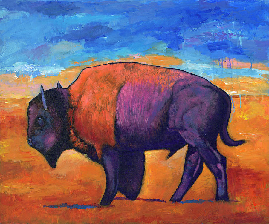 Animals Painting - High Plains Drifter by Johnathan Harris
