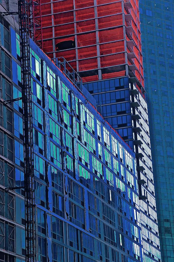 Buildings Photograph - High Rise by Gillis Cone