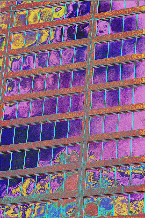 Psychedelic Photograph - High Roller Suites At The Flamingo Hotel by Richard Henne