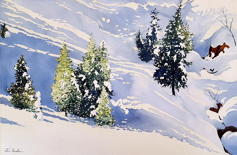High Sierra Snow by Jim Gerkin