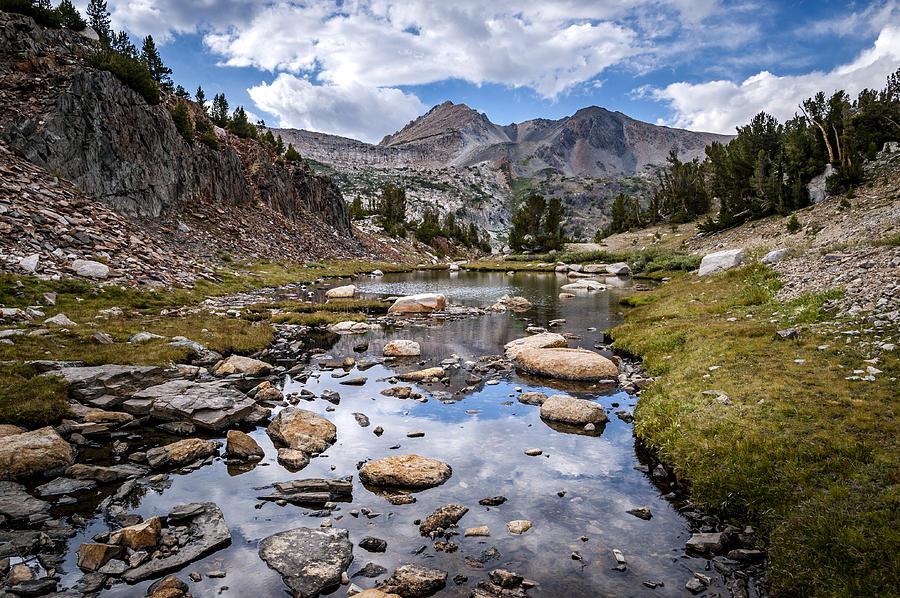 High Sierra Tarn Photograph