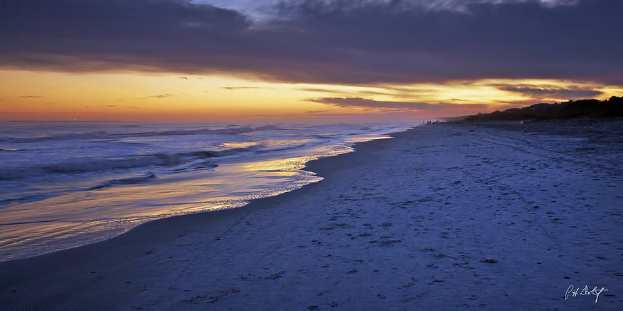 Beach Photograph - High Tide In Fading Light by Phill Doherty