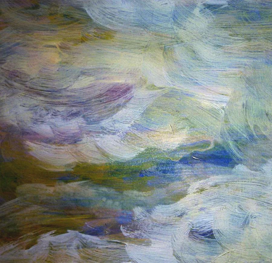 High Water Painting - High Water by Madina Kanunova