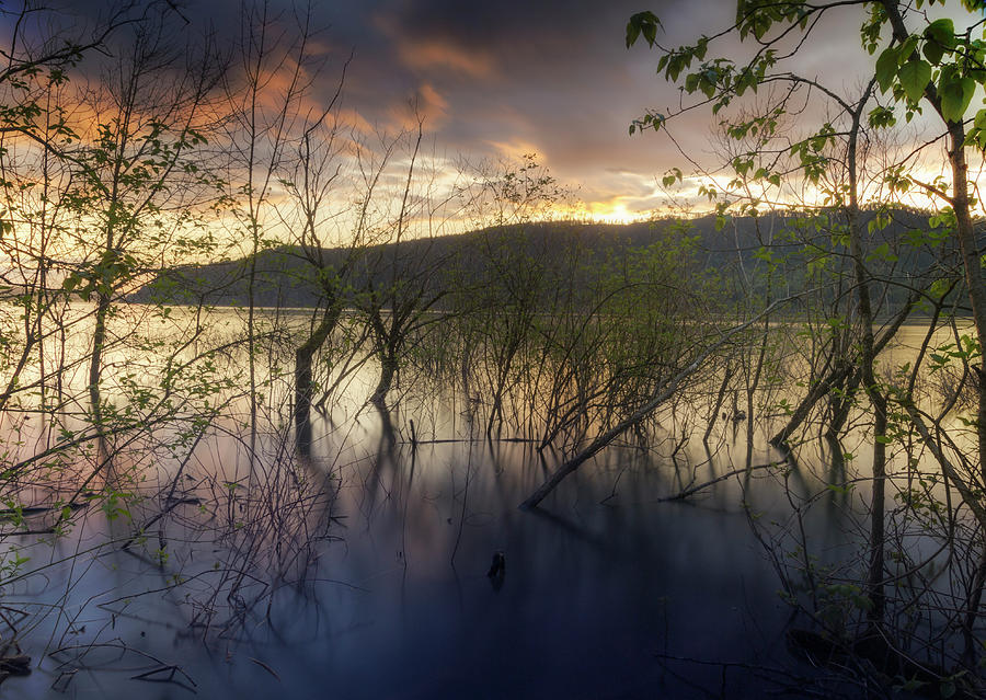 High Water Sunset by Jon Ares