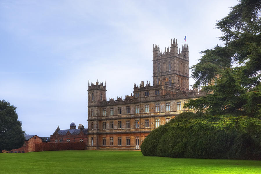 Highclere Castle Photograph - Highclere Castle by Joana Kruse