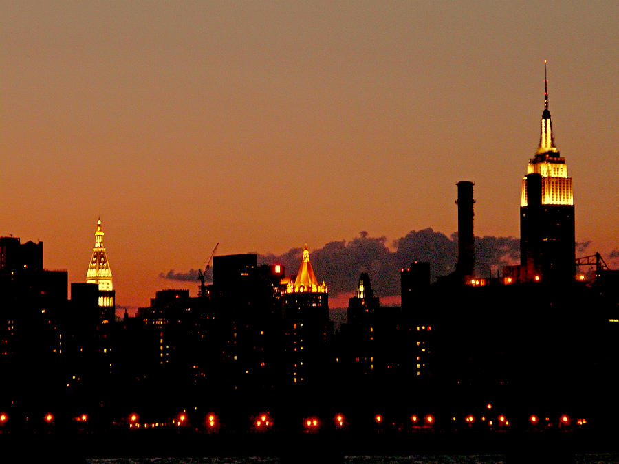 New York Photograph - Higher And Higher by Kendall Eutemey