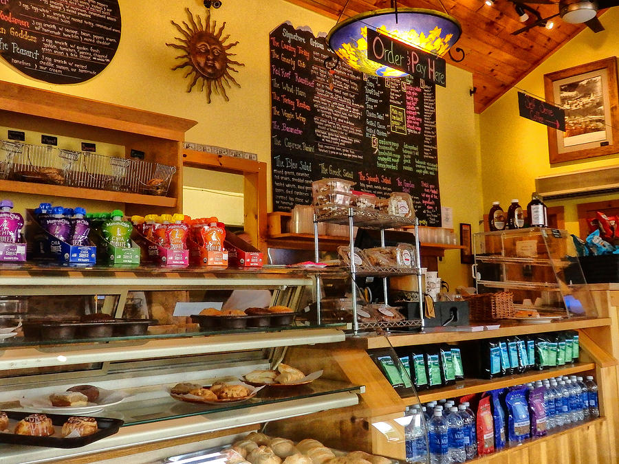 Coffee Photograph - Higher Grounds Coffee in Windham NY by Nancy De Flon