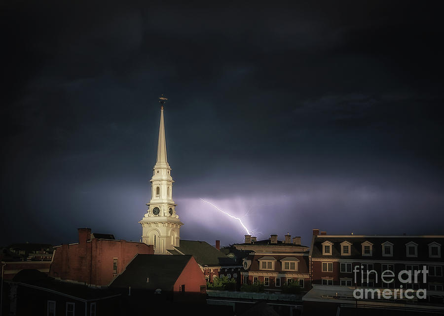 Portsmouth Photograph - Higher Powers by Scott Thorp
