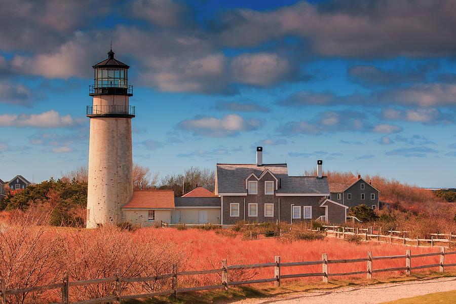 Highland Light Photograph - Highland Lighthouse Truro Massachusetts by Dapixara Art