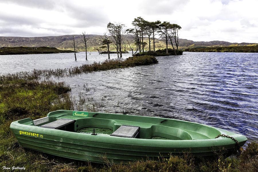 Loch Photograph - Highland Loch by Fran Gallogly