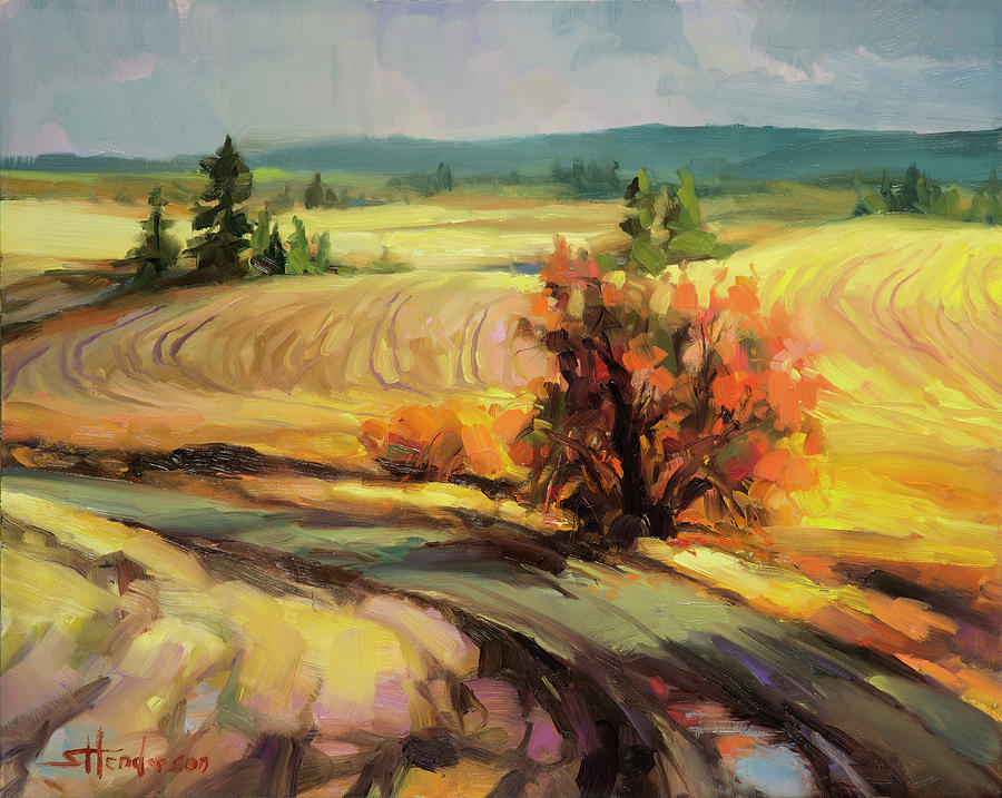 Highland Road Painting
