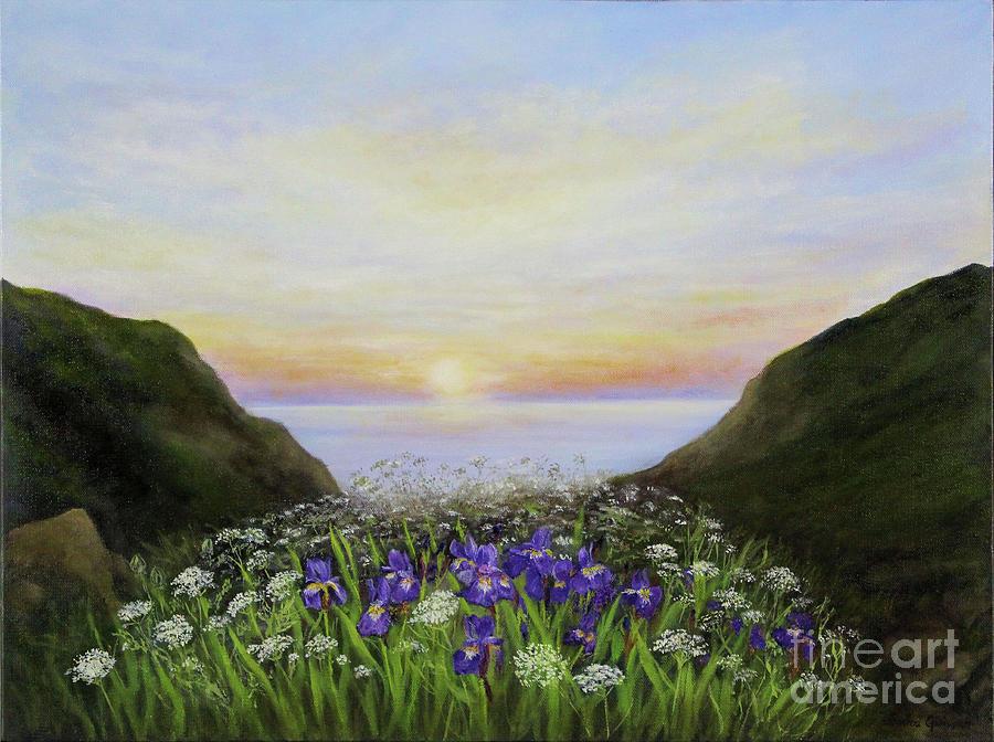 Cape Breton Highlands Painting - Highland Splendour by Janice Guinan
