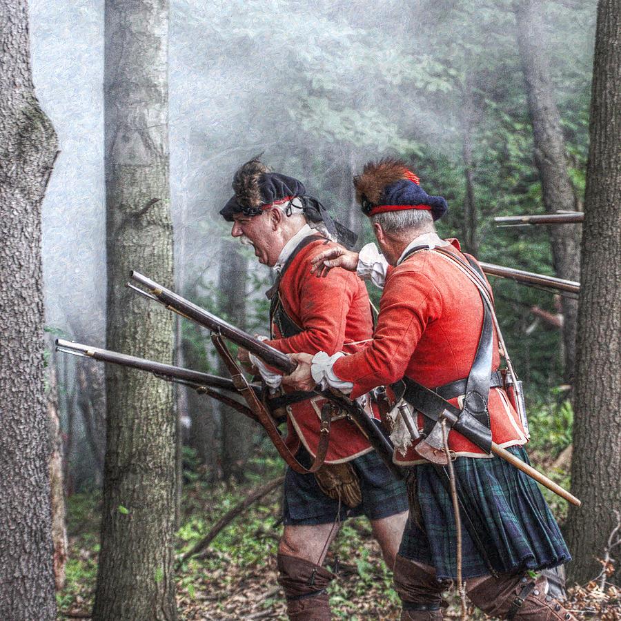 War Digital Art - Highlanders Forward by Randy Steele