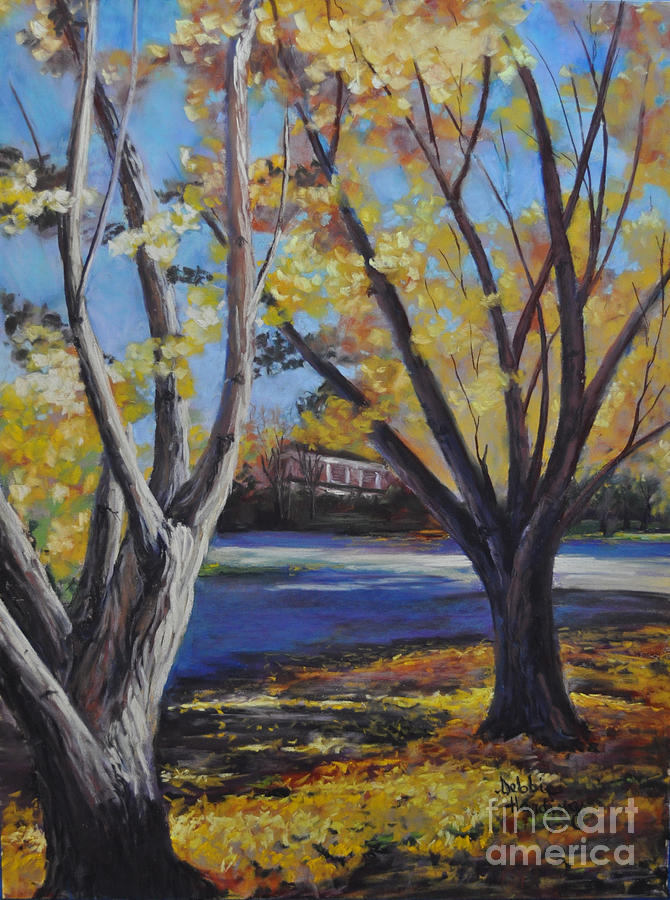 Landscape Painting - Highlights In G Major by Debbie Harding
