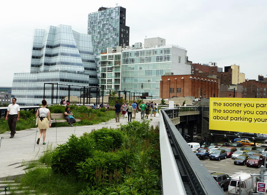 New York City Photograph - Highline Parking by Dan Stone
