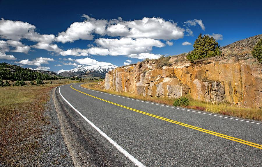 Highway 296, WY by Alex Galkin
