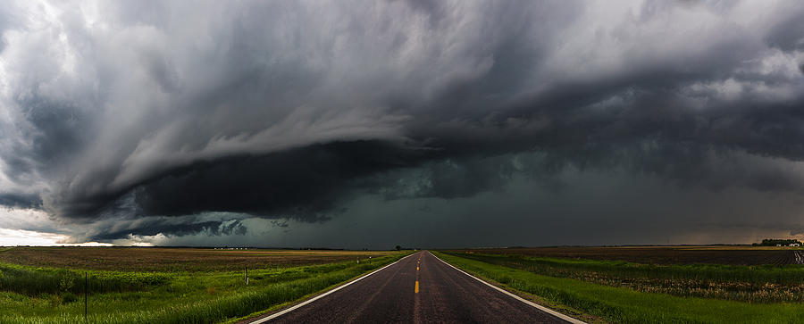 Storms Photograph - Highway to Hell by Aaron J Groen
