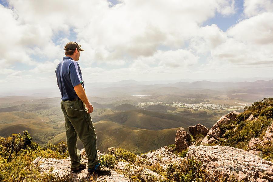 Tasmania Photograph - Hiking Australia by Jorgo Photography - Wall Art Gallery