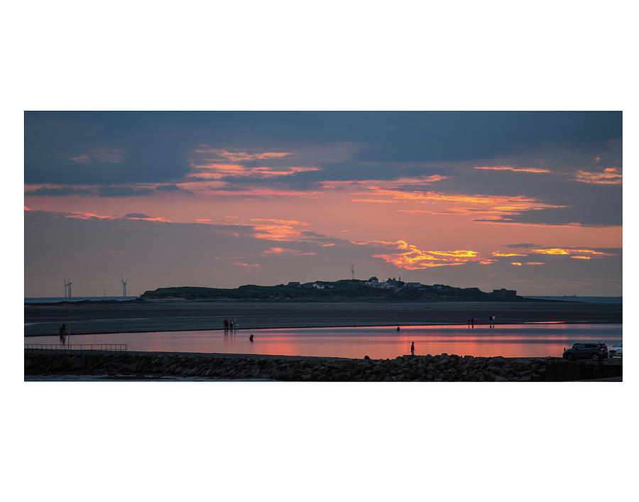 Hilbre Island Sunset by Spikey Mouse Photography
