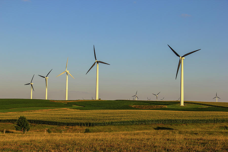 Windmill Photograph - Hill Country by Peter Bouman