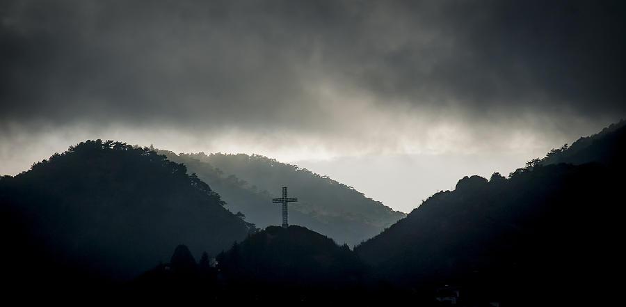 Makedonija Photograph - Hill Cross by Jonas Sundberg