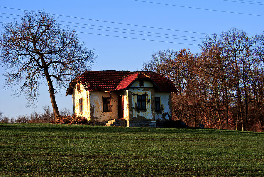 Landscape Photograph - Hill House by Milan Mirkovic