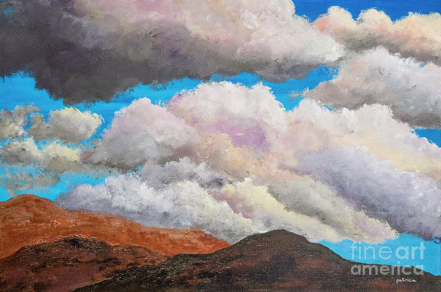 Hills and Clouds II by Patricia Gould