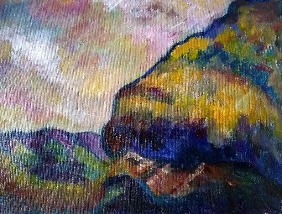 Nature Painting - Hills Of Jamaica by Kirkland  Clarke