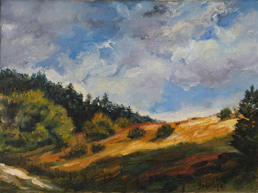 Hills Painting - Hills by Rick Nederlof