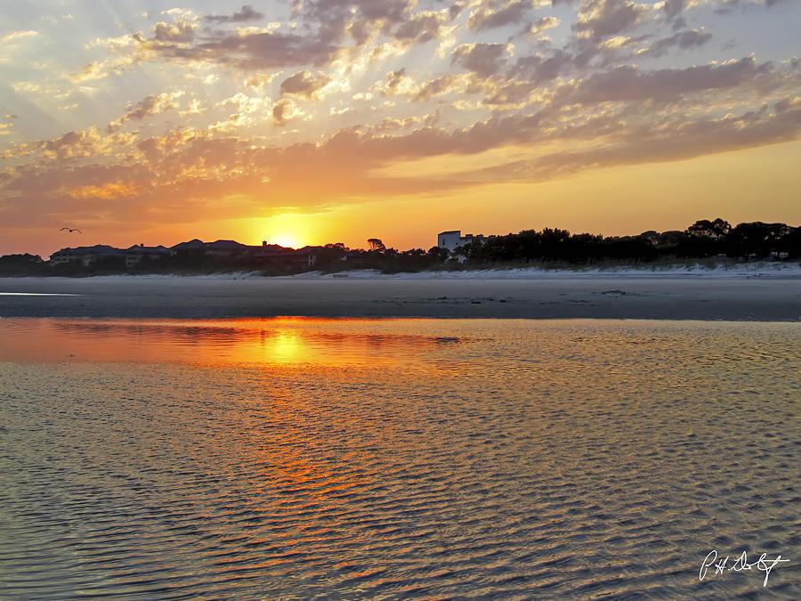 Beach Photograph - Hilton Head Beach by Phill Doherty