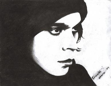 Him Drawing by Frank haro